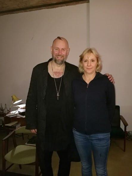 Kathrin Nake und Jan Becker